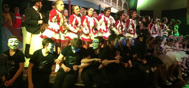 Grandioser Auftakt zum Maskenball in Niederaula